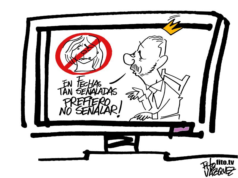 Mensaje Navideño Felipe Sexto | © Fito Vázquez 2014