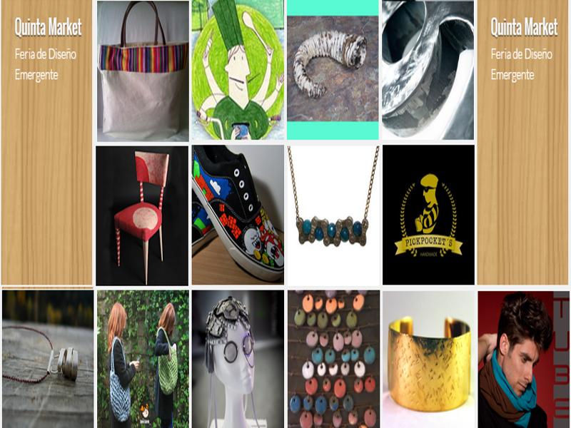 'Quinta Market' | 4ª Feria de Diseño Emergente | Centro Creativo Quinta del Sordo | La Latina - Madrid | 20-21/12/2014