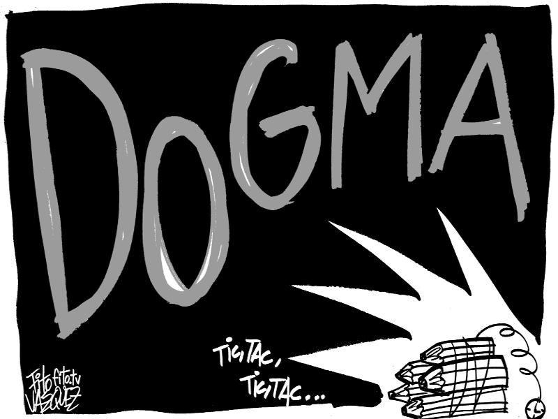 Humor vs. Dogma |  © Fito Vázquez 2015