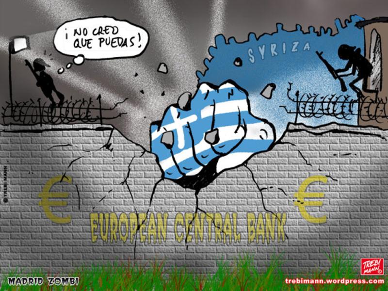 MZ 2015-06 | Y SYRIZA gana en Grecia | © Trebi Mann 2015