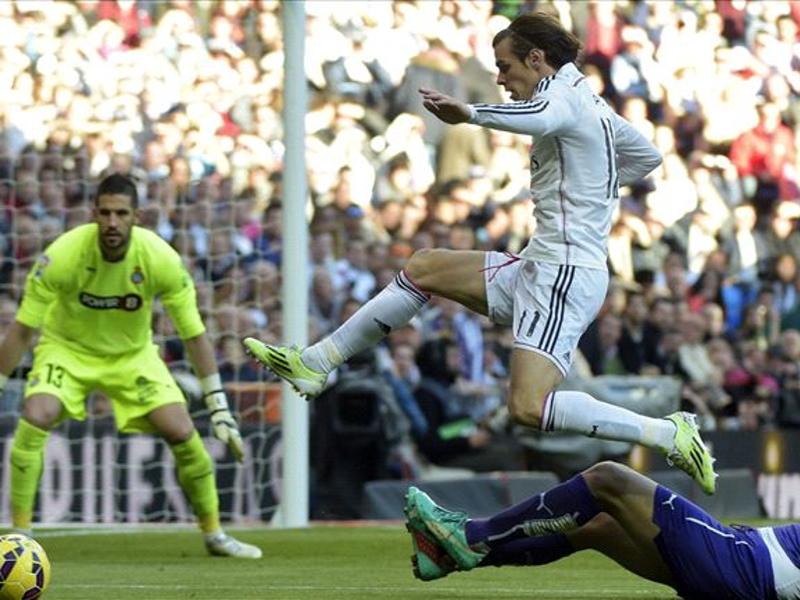 Real Madrid se impuso a Espanyol por 3-0 en el encuentro disputado en el Santiago Bernabéu correspondiente a la jornada 18ª de Liga BBVA 14-15 (10/01/2015)