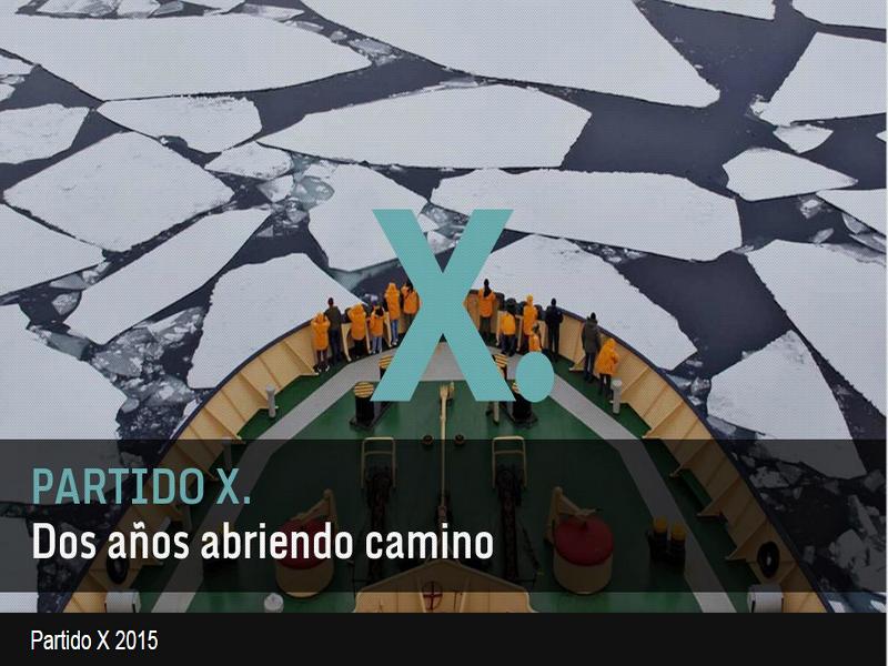 Red Ciudadana Partido X   Dos años abriendo caminos   2013-2015