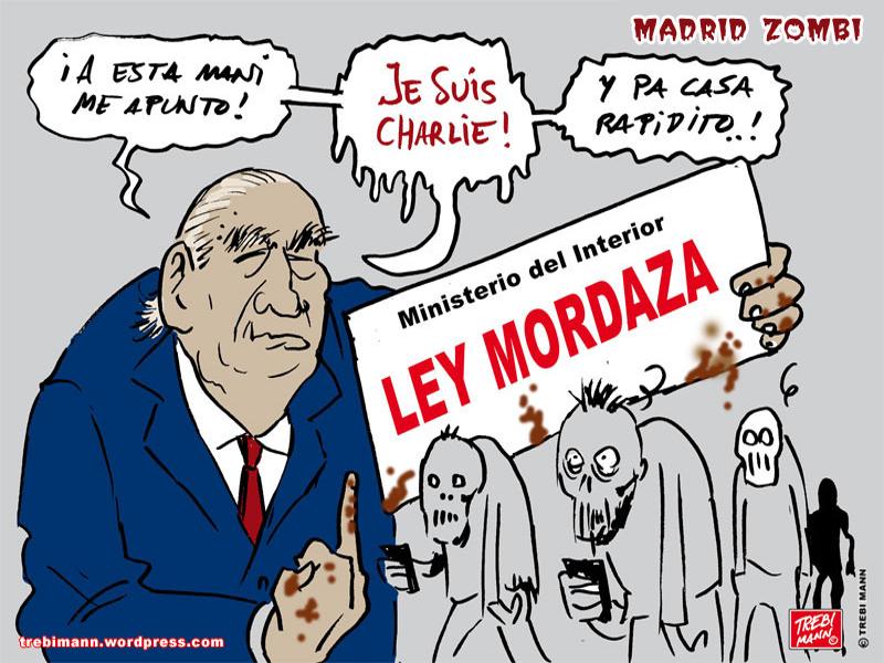 MZ 2015 - 03 | Madrid Zombi | Je suis Fernand | © Trebi Mann 2015