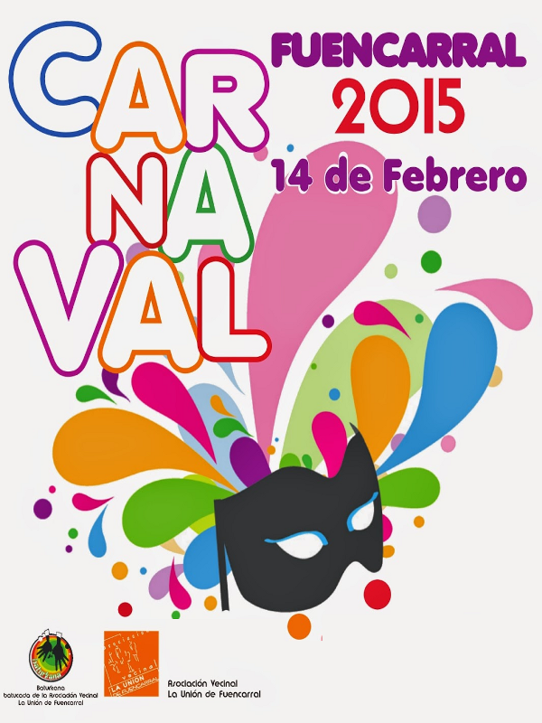 Carnaval 2015 | Fuencarral | Madrid | Cartel