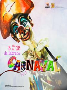 Carnaval 2015 Pinto | Comunidad de Madrid | Cartel