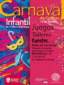 Carnaval de Cuento Infantil 2015 San Sebastián de los Reyes | Comunidad de Madrid | Cartel