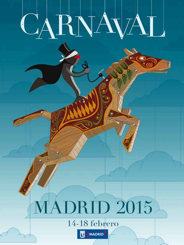 Carnaval Madrid 2015 | Del 14 al 18 de febrero de 2015 | Cartel