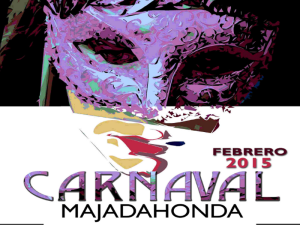 Carnaval Majadahonda 2015 | Comunidad de Madrid | Cabecera cartel