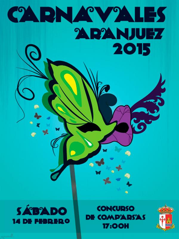 Carnavales Aranjuez 2015 | Comunidad de Madrid | Cartel