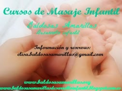 Curso de Masaje Infantil para padres, madres y bebés de 0 a 1 año en Madrid.