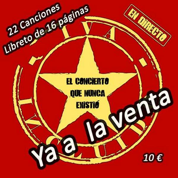 'El concierto que nunca existió' de IVA Incluido en directo con 22 canciones