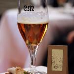Gastronomía & Cerveza, nuevo concepto del maridaje | Casimiro Mahou & Racó d'en Cesc | Madrid Fusión 2015 | Pan de algas y pollo de corral con Maravillas