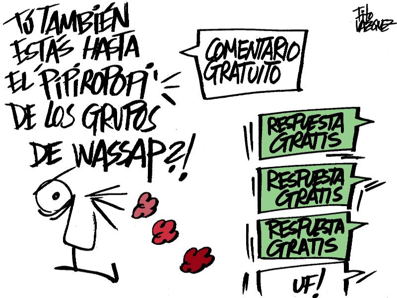 Grupos de WhatsApp | © Fito Vázquez 2015