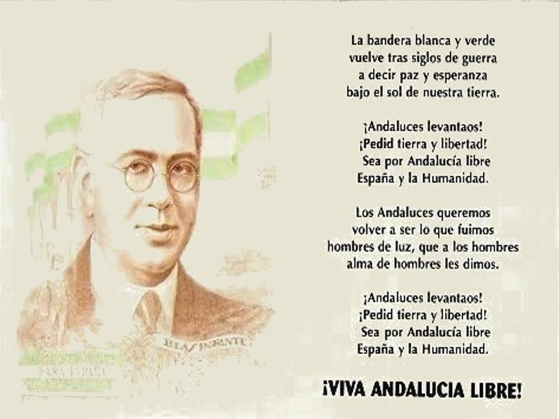 Himno de Andalucía   Blas Infante Pérez   ¡Viva Andalucía Libre!