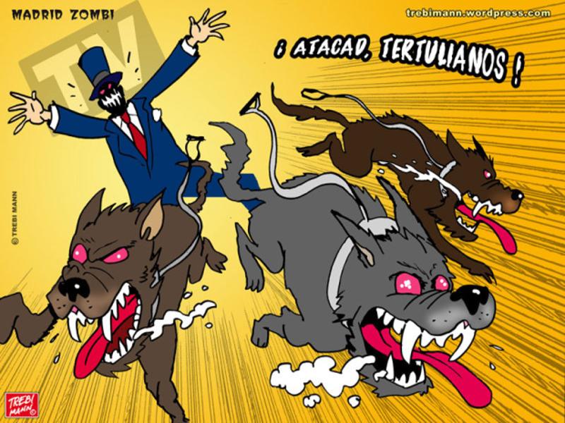 MZ 2015-08   ¡Atacad tertulianos!   © Trebi Mann 2015