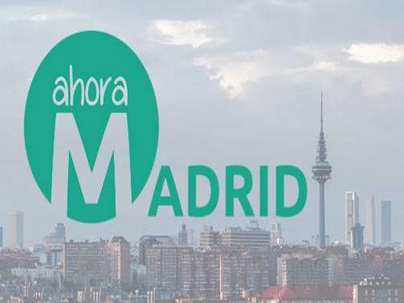 Ahora Madrid | Candidatura de Unidad Popular y Ciudadana | Elecciones Municipales 2015