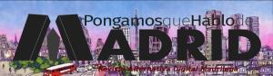 Cabecera PqHdM RADM 2015 | Logo: Paula Díaz | Fondo Skyline Madrid: José Alcalá