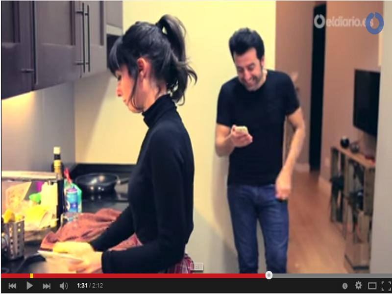 Fotograma del vídeo 'Micromachismos: están ahí aunque a veces no queramos verlos' del blog microMACHISMOS de eldiario.es