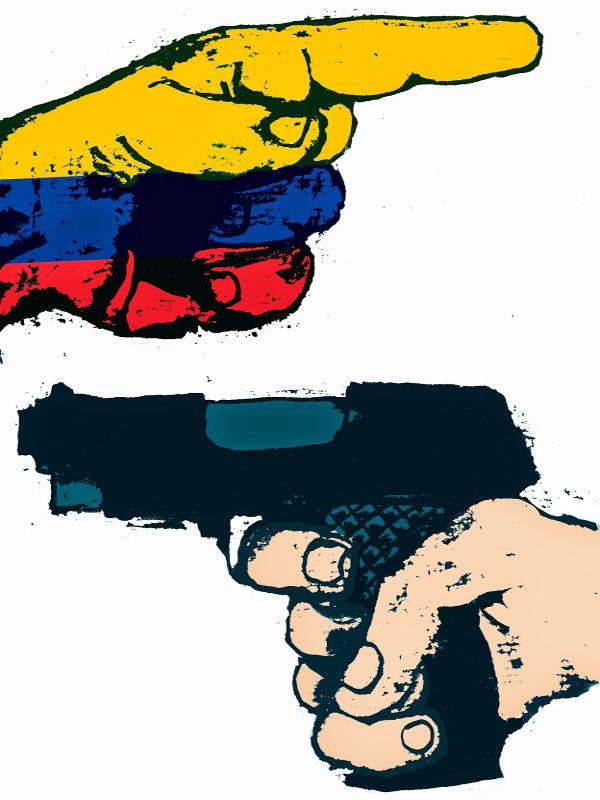 Madrid con el proceso de Paz en Colombia | Acto de apoyo a la Cumbre Mundial del Arte y la Cultura para la Paz en Colombia | Martes 31 de marzo de 2015 | Cartel: Enrique Flores