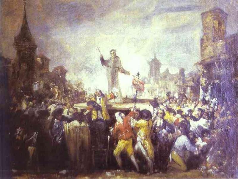 'Motín de Esquilache' | Atribuido a Francisco de Goya | Circa 1767 | Colección privada - París | Fuente; Wikimedia