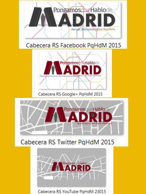 Cabeceras Redes Sociales | PqHdM - 2015 | Paula Díaz