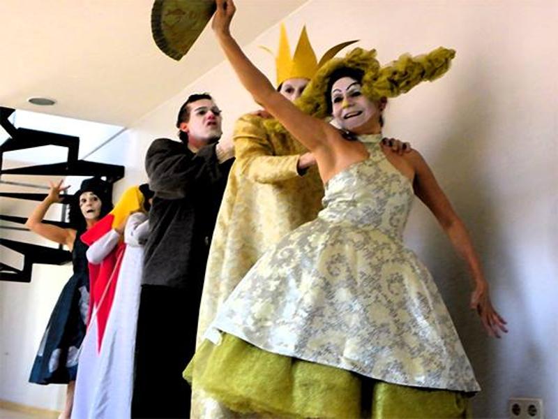 'Entremeses de una época oscura' | Teatro de Mayo | 'La conga'