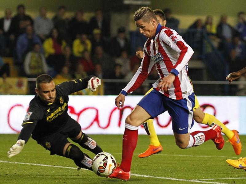 Fernando Torres marcó el único gol del encuentro Villarreal-Atlético de Madrid correspondiente a la jornada 34ª de Liga BBVA 14-15