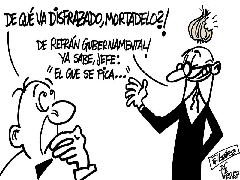 Respuesta de Mortadelo | F. Ibañez + Fito Vázquez 2015