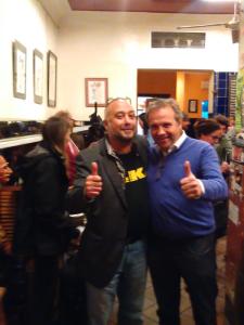 Rodaje con Antonio Miguel Carmona en La Mancha en Madrid de Lavapiés | Juanfer Puebla -y Antonio Miguel Carmona