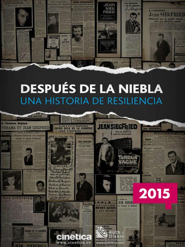 Cartel 'Después de la niebla' de Luis Ortas | España/Francia 2015 | Premio CANAL+ al Mejor Documental Español | DocumentaMadrid 2015