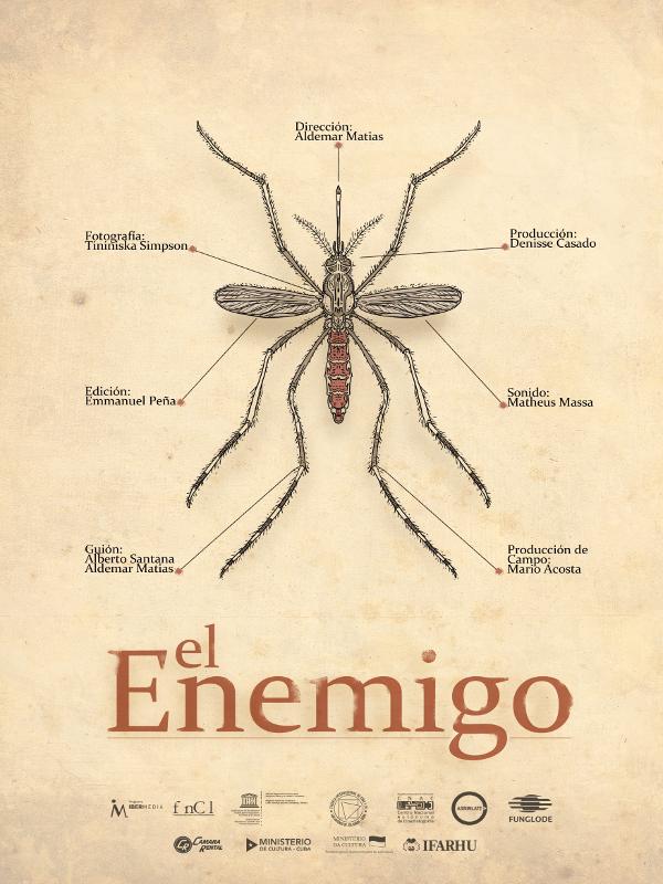 Cartel 'El Enemigo' de Aldemar Matias | Cuba 2015 | Primer Premio del Jurado Cortometraje Internacional | DocumentaMadrid 2015