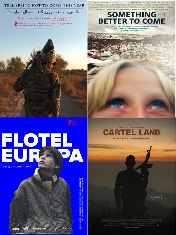 Carteles | Películas ganadoras | Premios Oficiales del Jurado | Largometraje Internacional | DocumentaMadrid 2015