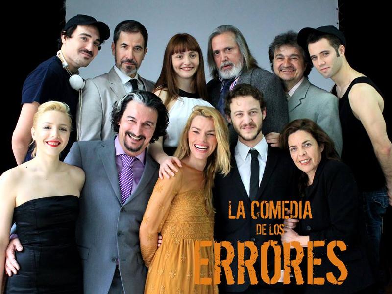 Elenco de 'La comedia de los errores' de William Shakespeare por Cía. Artistas Y Punto | Del 15 al 31 de mayo de 2015 | Teatro Lagrada | Arganzuela - Madrid