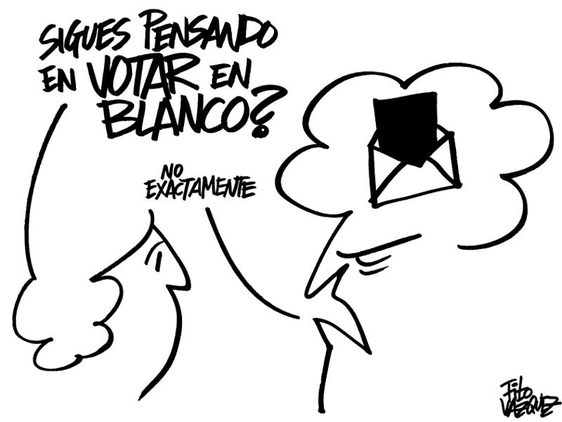 Escepticismo electoral | © Fito Vázquez 2015