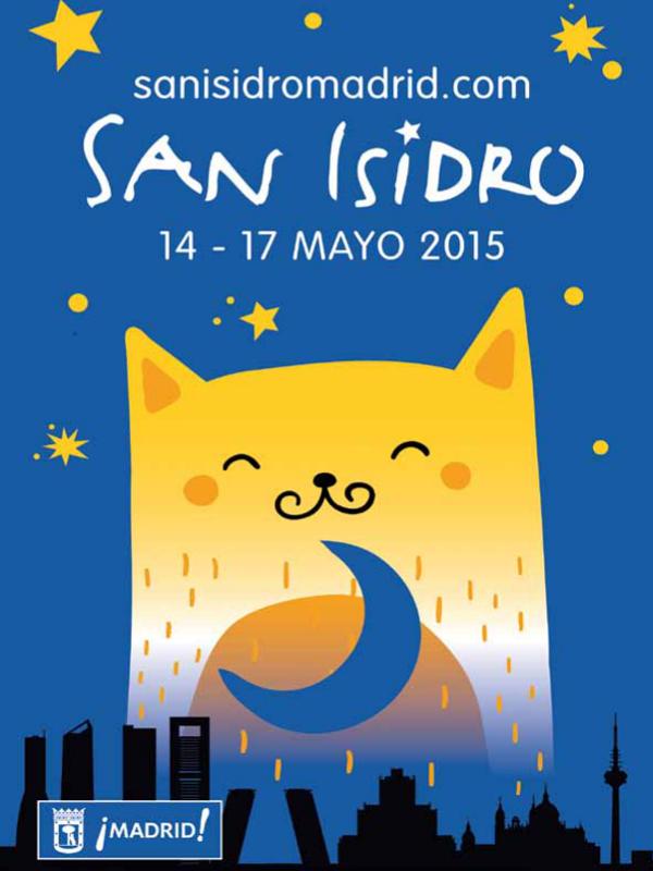 Fiestas de San Isidro 2015 | Madrid | 14-17 de mayo de 2015 | Cartel: Chema Fernández