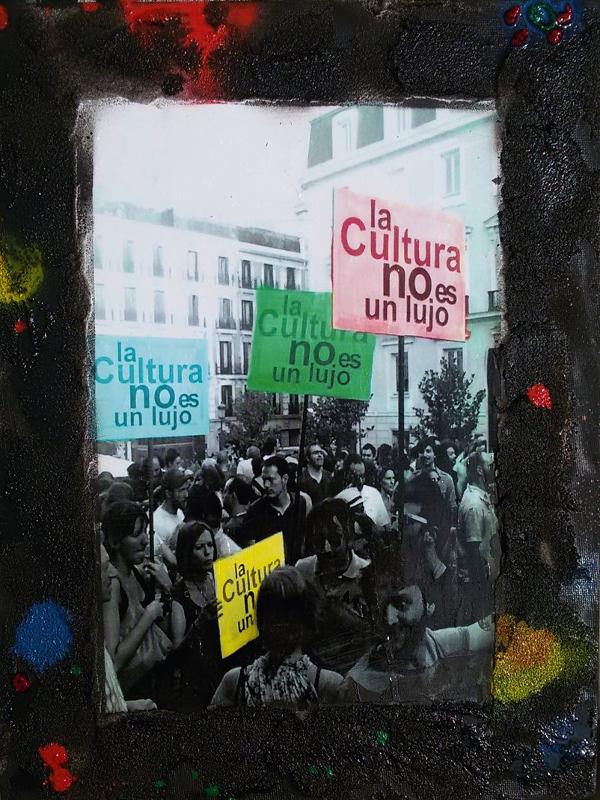 La Cultura no es un lujo | Imagen: Pintas mucho en el mundo