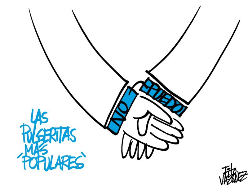 Las pulseritas más 'populares' | © Fito Vázquez 2015