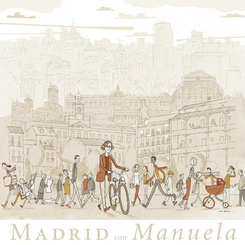 Madrid con Manuela | Mayo 2015 | Ilustración de Juan Berrio