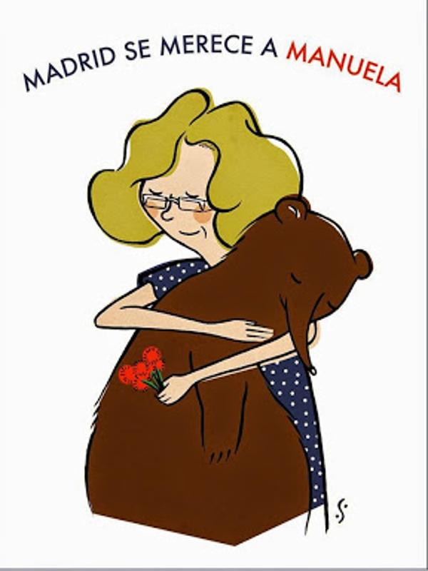 Madrid se merece a Manuela | Ilustración de Libertad Suárez
