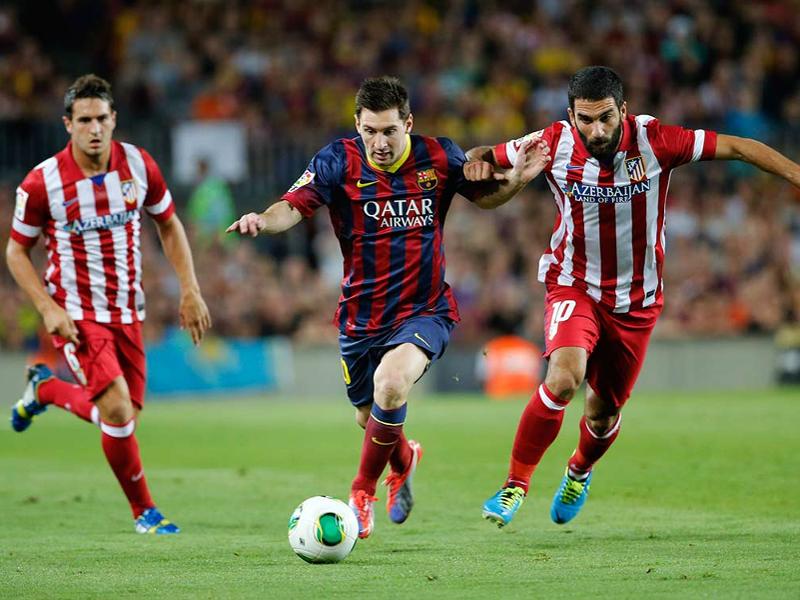 Messi marcó el único gol del Atlético de Madrid vs. Barcelona que vale el título de Campeón de Liga 14-15 (17-05-2015)