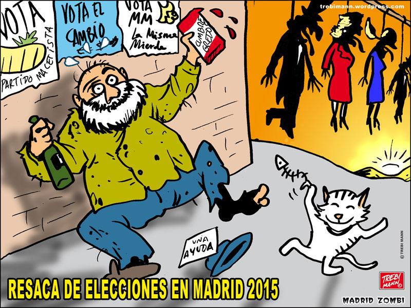 MZ 2015 - 23 | Elecciones Madri | © Trebi Mann 2015