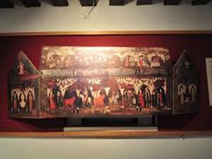 Reproducción desplegada del arca mosaica que contuvo los restos de San Isidro desde el siglo XIII hasta el XVIII | Museo de los Orígenes Casa de San Isidro - Madrid