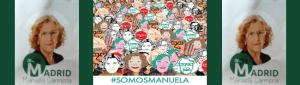 #SomosManuela | Ahora Madrid | Manuela Carmena | Portada