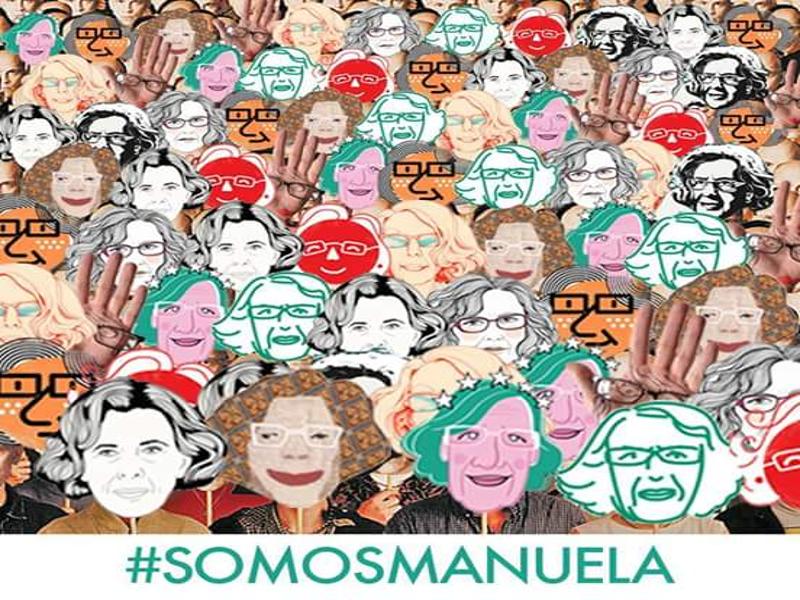 #SomosManuela | Ahora Madrid | Manuela Carmena