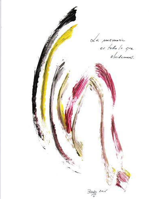 AASR 11 | Azaristmo plástico 'La memoria es todo lo que olvidamos | 'Bolo' García | Del 15 al 21 de junio de 2015