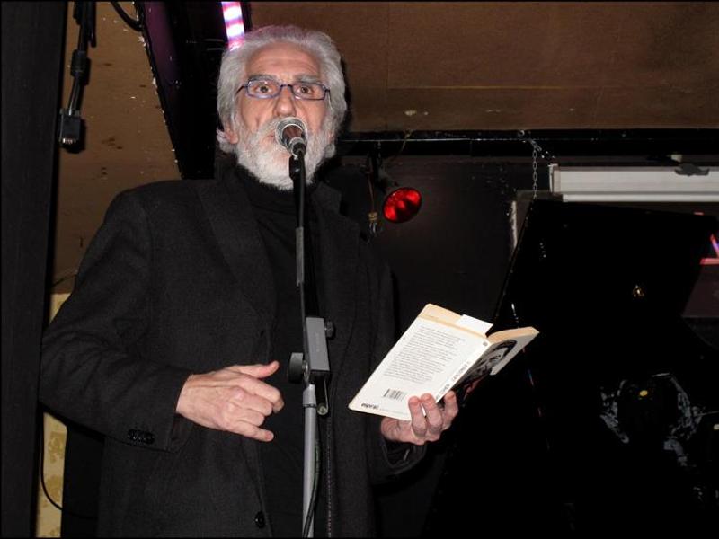 AASR 12 | 'Bolo' García leyendo poemas en la Sala Clamores de Madrid | Del 22 al 28 de junio de 2015
