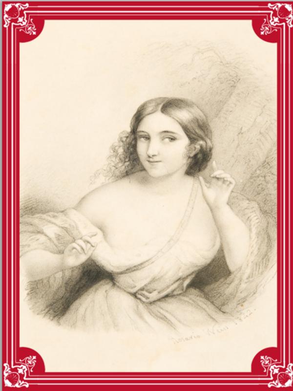 'Alegoría de la atención' de Rosario Weiss (1842) | Museo del Romanticismo de Madrid