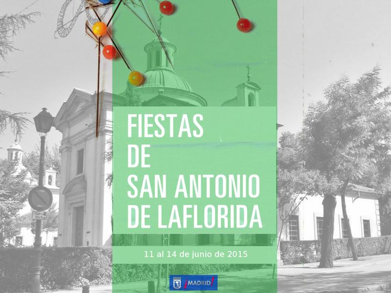 Fiestas de San Antonio de la Florida 2015 | Moncloa-Aravaca | Madrid | Del 11 al 14 de junio de 2015