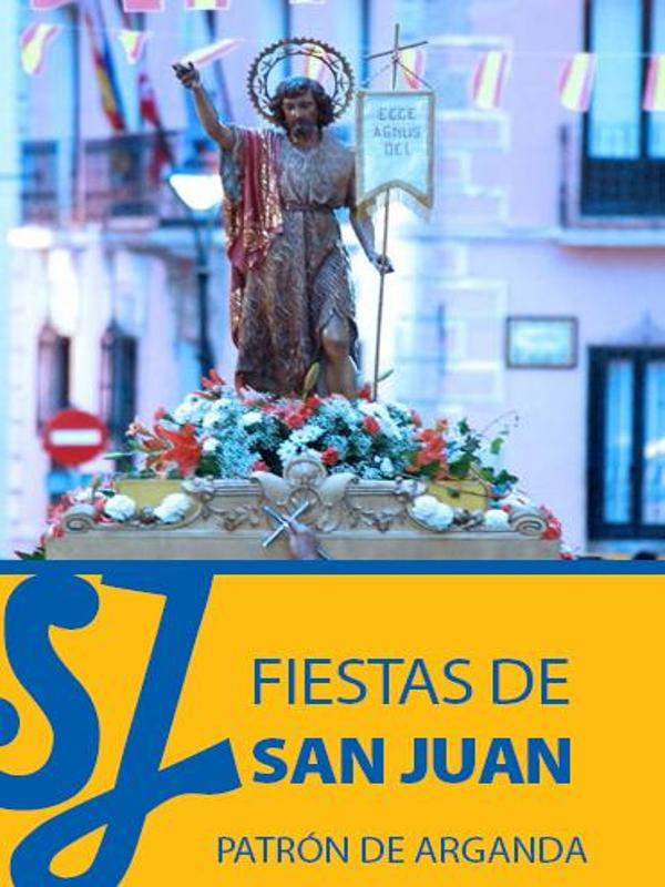 Fiestas de San Juan 2015 | Arganda del Rey | Comunidad de Madrid | Del 21 al 24 de junio de 2015 | Cartel