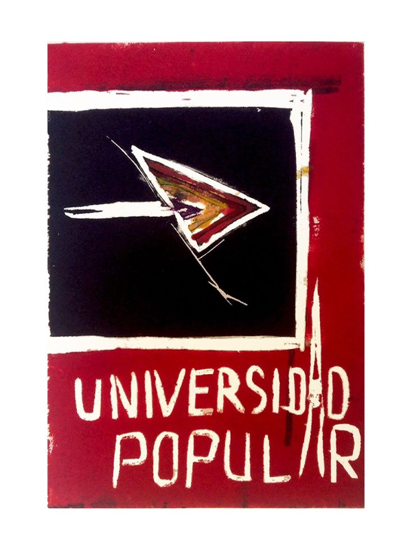 III Universidad Popular de Verano   Campus de Cebada   Barrio de La Latina   Madrid   Cartel Ignacio